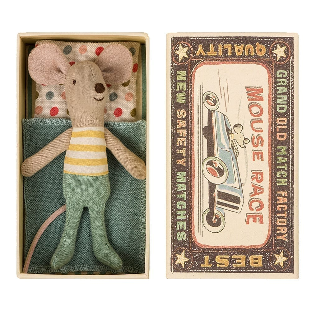 Little Brother Mouse in Box – 10 cm