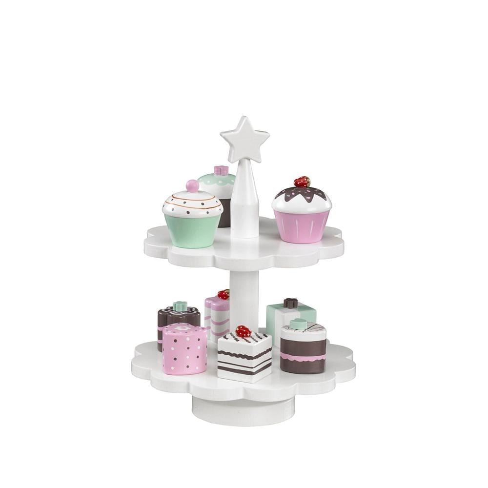 Toy Cake Stand – incl. 9 cupcakes/cakes