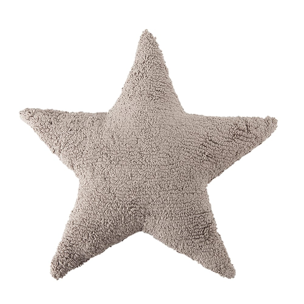 Lorena Canals - Star Cushion - Mouse - 54 x 54 cm