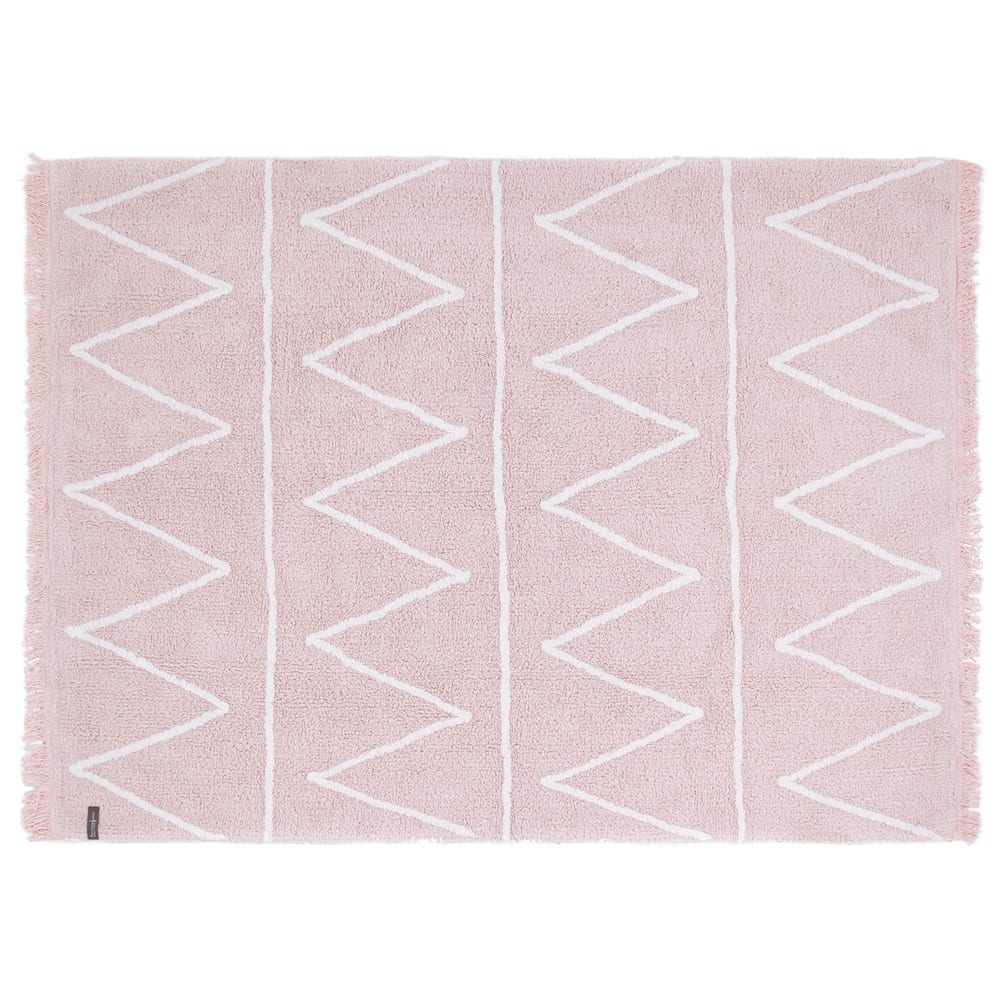 Lorena Canals - Washable Rug - Hippy - Soft Pink - 120 x 160 cm