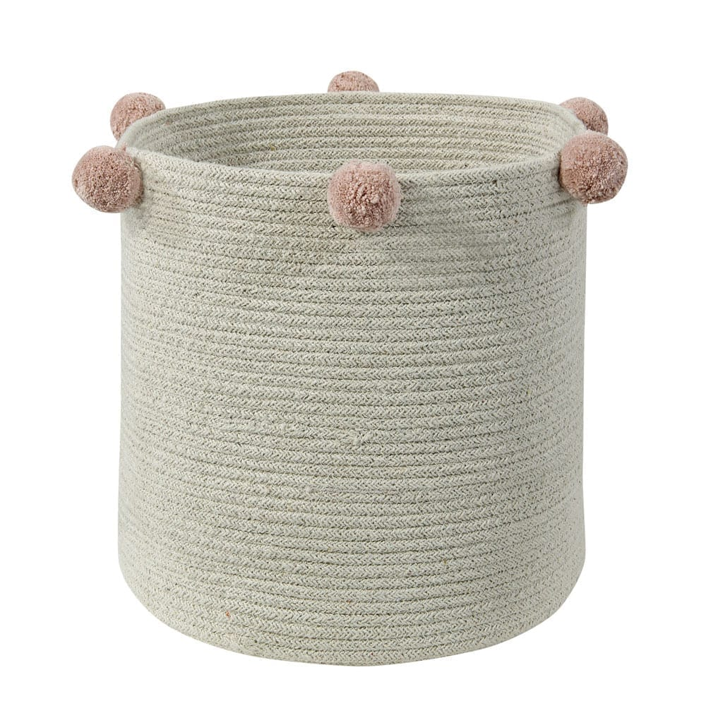 Lorena Canals - Washable Basket - Bubbly - Natural Nude - 30 x 30 cm