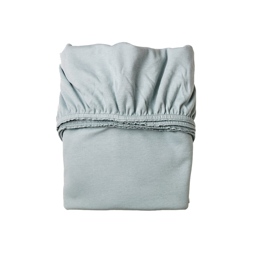 Sheet for Classic Baby Cradle Organic – Misty Blue (2pcs)
