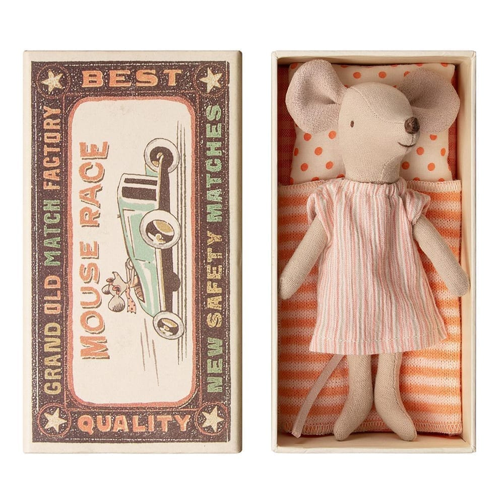 Big Sister Mouse in Box – 12 cm