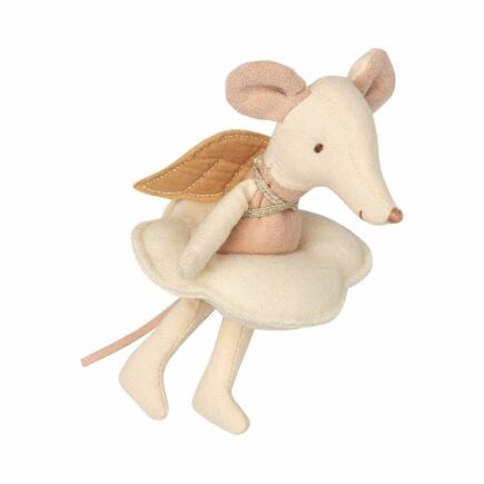 Maileg Angel Mouse Big Sister in Book 16-8738-01