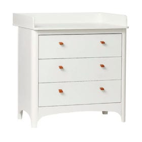 Changing Unit for Classic Dresser – White