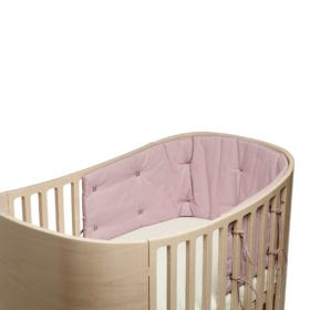 Leander – Bumper for Classic Baby Cot – Dusty Rose