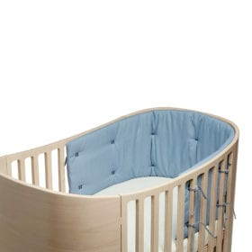 Bumper for Classic Baby Cot – Dusty Blue