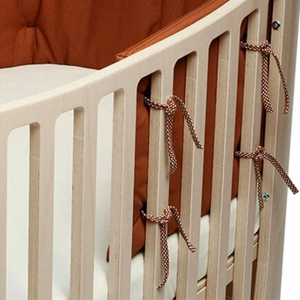 Leander Bumper for Classic baby cot organic ginger