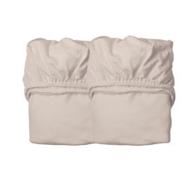 Sheets for Baby Cot, Organic – Cappuccino (2pcs.) 60 x 120 cm