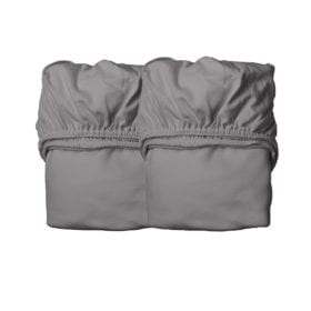 Sheets for Baby Cot, Organic – Cool Grey (2pcs.) 60 x 120 cm