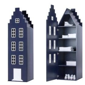 Cabinet Amsterdam, Stairgable – Night Blue