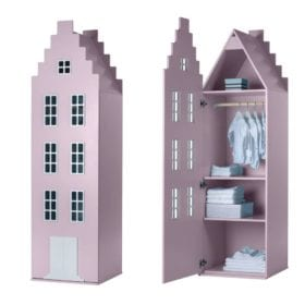 Cabinet Amsterdam, Stairgable – Pastel Pink