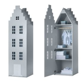 Cabinet Amsterdam, Stairgable – Silver
