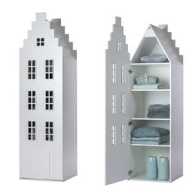 Cabinet Amsterdam, Stairgable – White