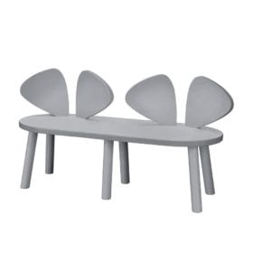 Nofred – Mouse Bench – Grey