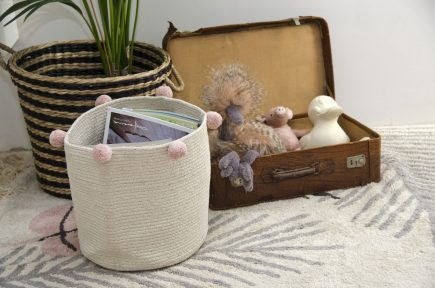 Lorena Canals opbergmand Bubbly 30 x 30 x 30 cm natural nude