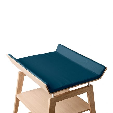 Leander Linea Changing Table Cover for Foam Cushion dark blue