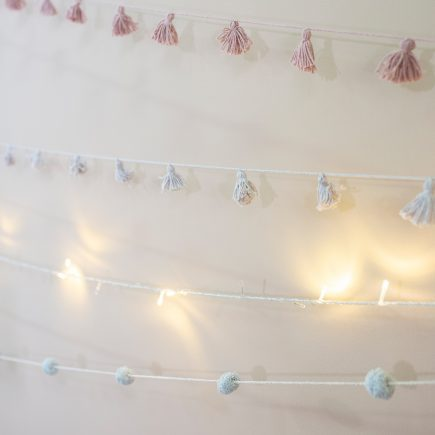 Lorena Canals Garland Candy Necklace light grey