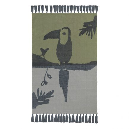 NOFRED Toucan Rug petroleum
