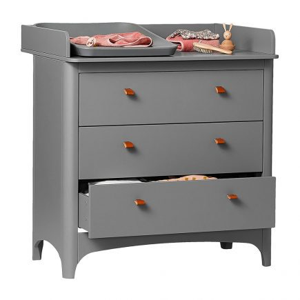 Leander Classic Dresser with Changing Unit grey